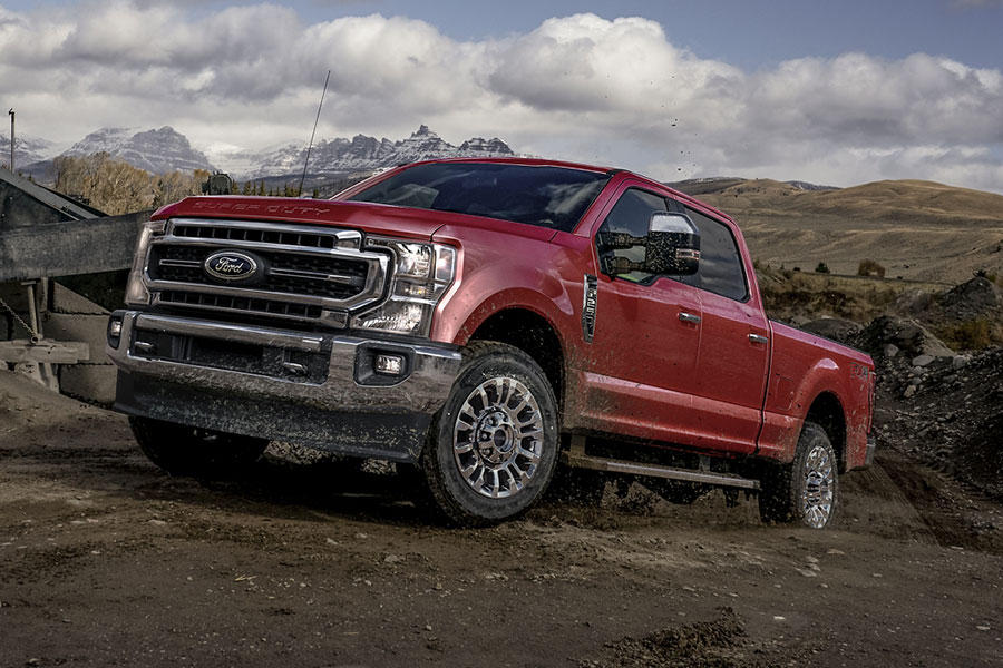 2020 Ford F-250 Off-Roading