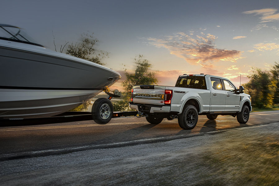 2020 Ford F-250 Towing