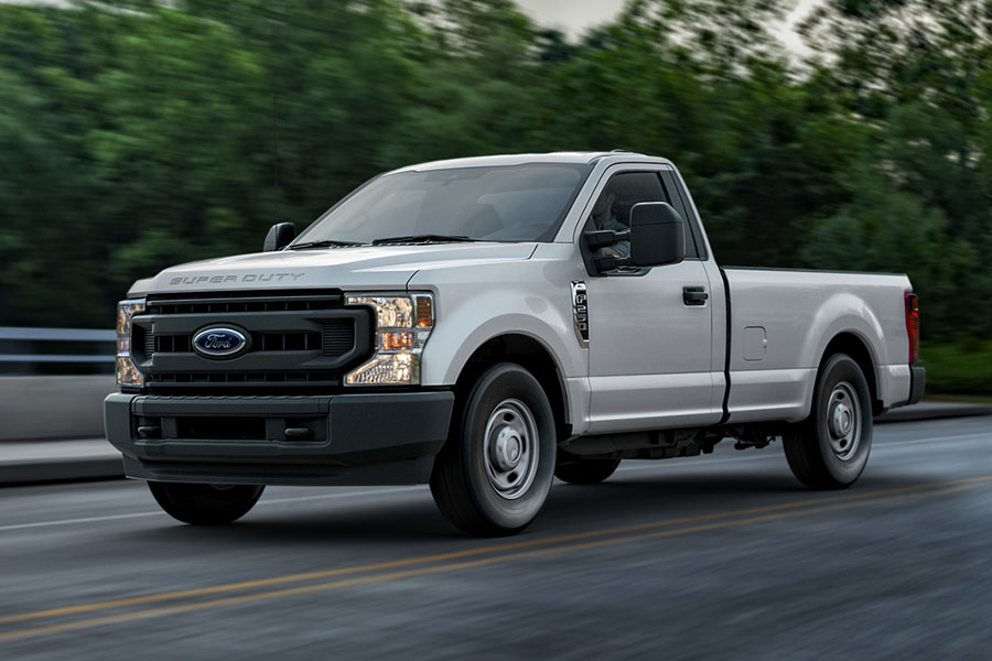 2020 Ford F-250 on the Road