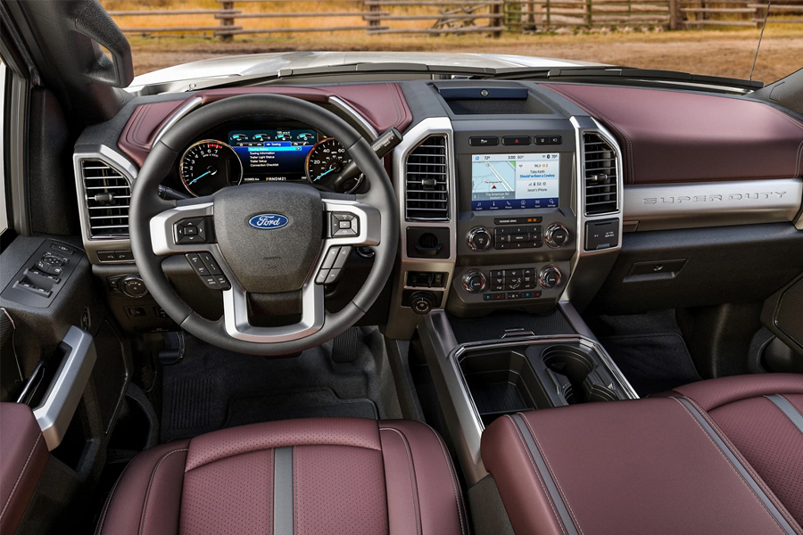 2021 Ford F-250 Technology