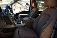 2017 Ford F-250 SRW Refined Interior