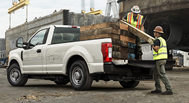 2017 Ford F-350 SD Best in Class Payload Capacity