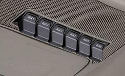 2017 Ford F-350 SD SRW Upfitter Console