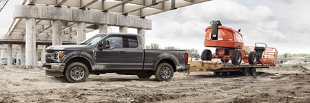 2017 Ford F-350 Super Duty Best-in-Class Towing and Hauling