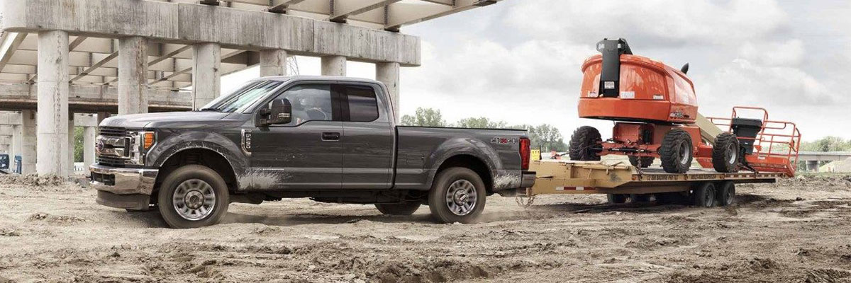 2018 Ford F-350 Towing