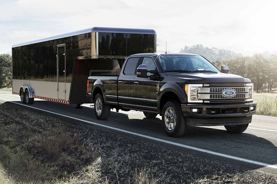 2019 Ford F-350 Towing