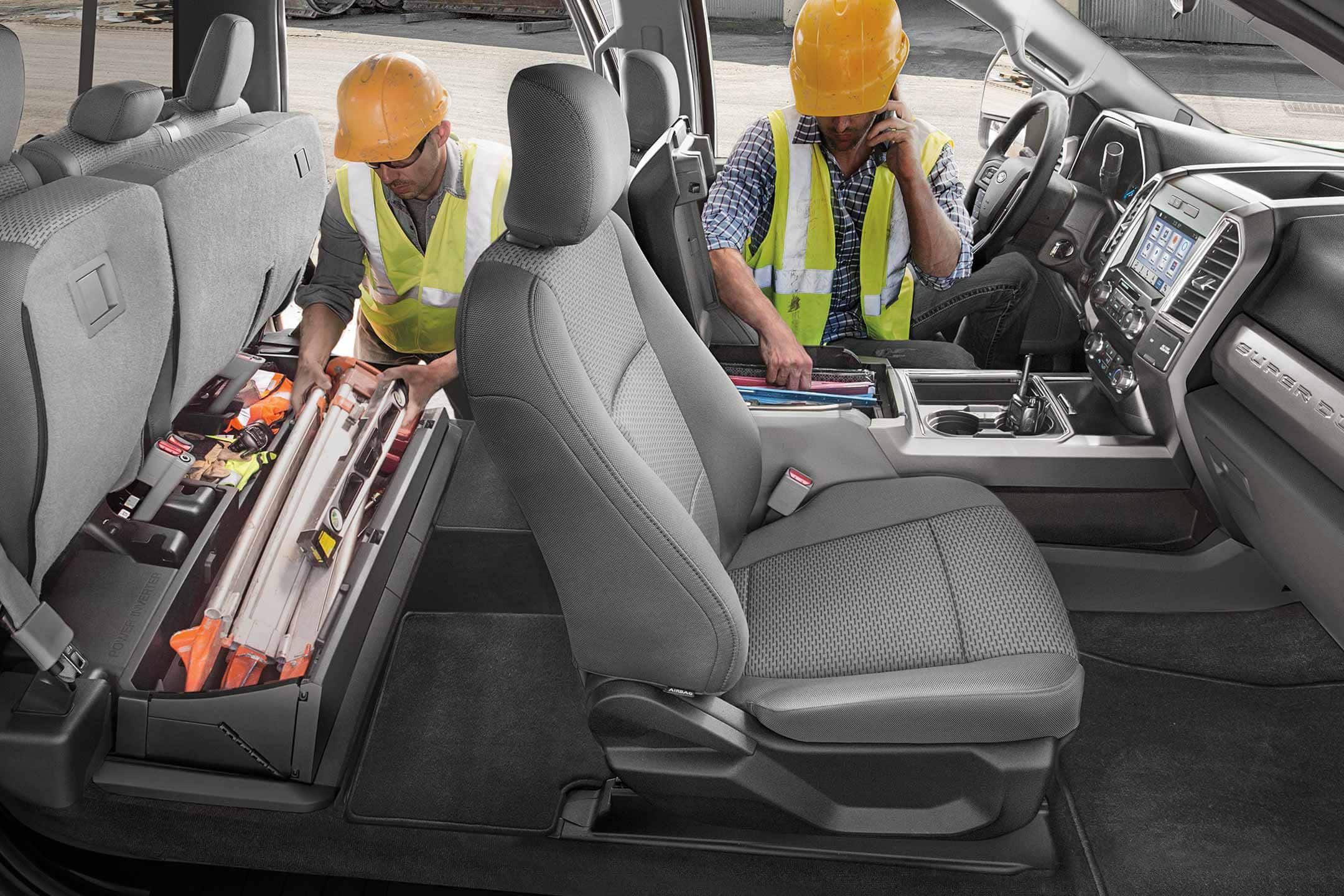 2019 Ford F-350 Interior