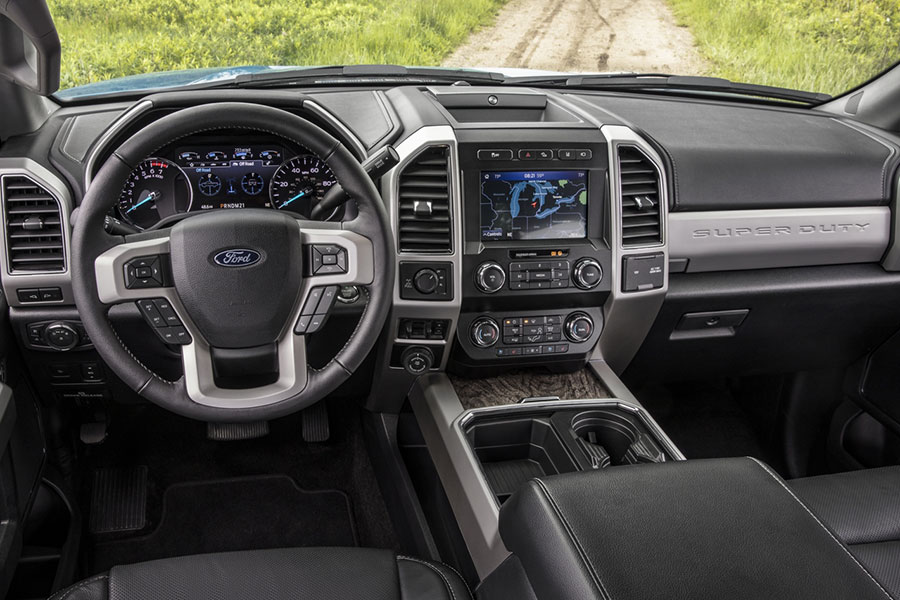 2020 Ford F-350 Technology
