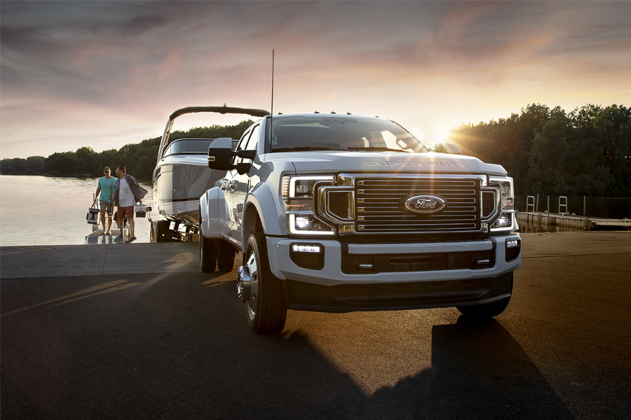 2020 Ford F-450 Towing