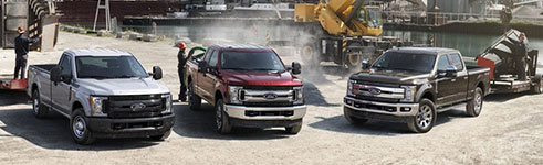 2017 Ford F-450 DRW Configurations