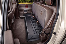 2017 Ford F-450 DRW Lockable Under-Seat Storage Box