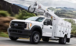 2017 Ford F-550 Best-in-Class Front GAWR