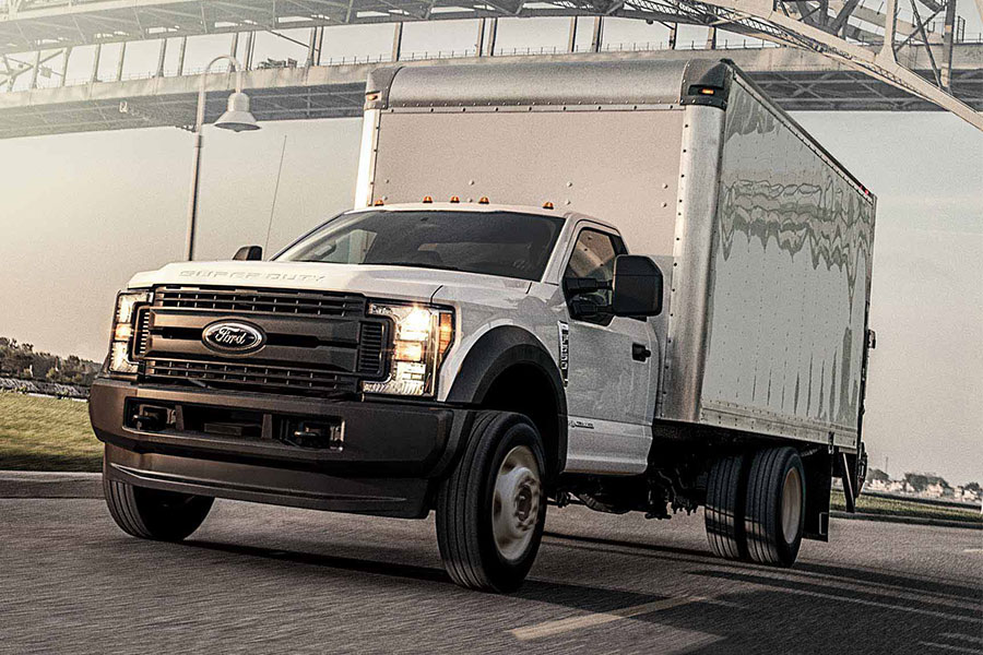 2019 Ford F-550 on the Road
