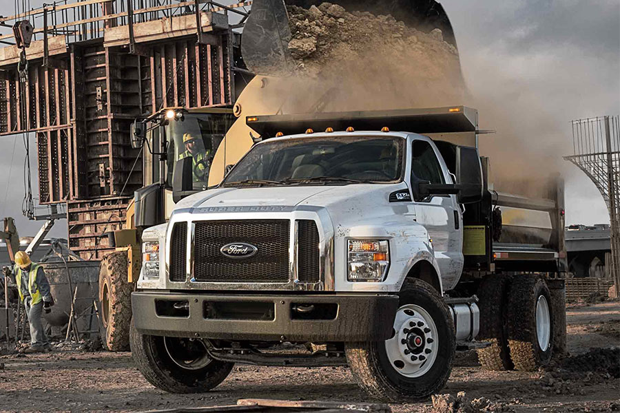 2019 Ford F-650 Doing Something Rugged
