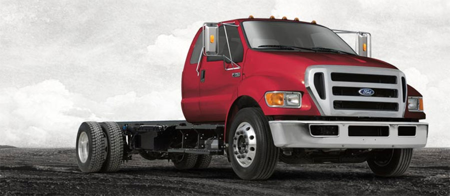 used Ford Super Duty F-650 Straight Frame
