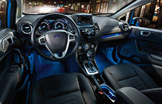 2016 Ford Fiesta Ambient Interior Lighting
