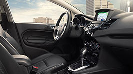 2016 Ford Fiesta Spacious, Features-Rich Cabin