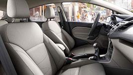 2017 Ford Fiesta Refined Cabin