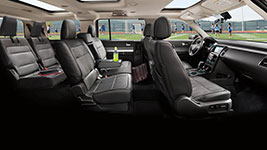 2016 Ford Flex Roomy, Modern Cabin