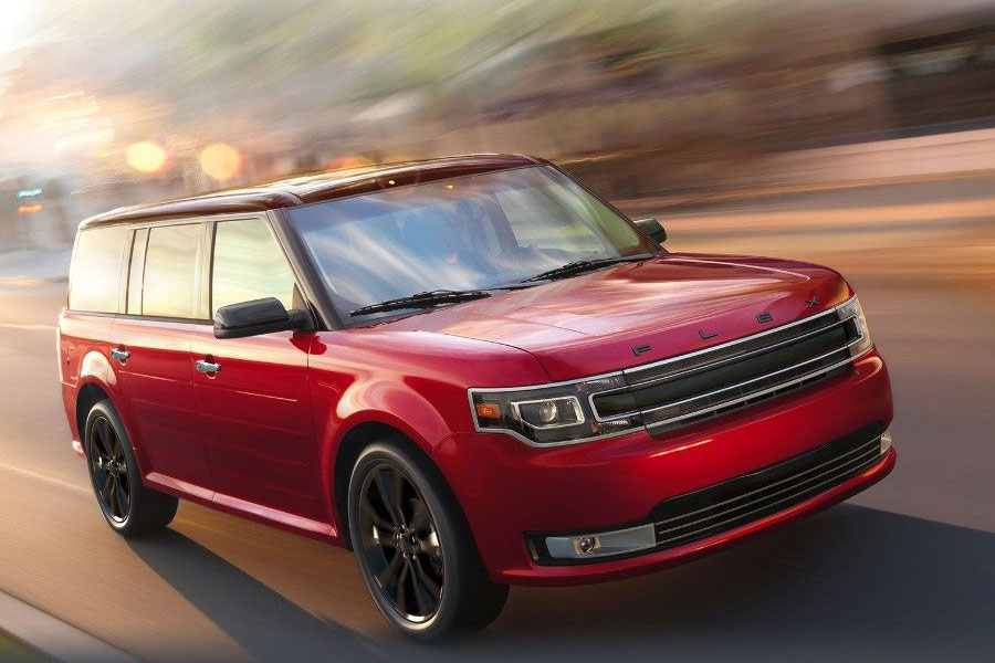 2019 Ford Flex On the Road