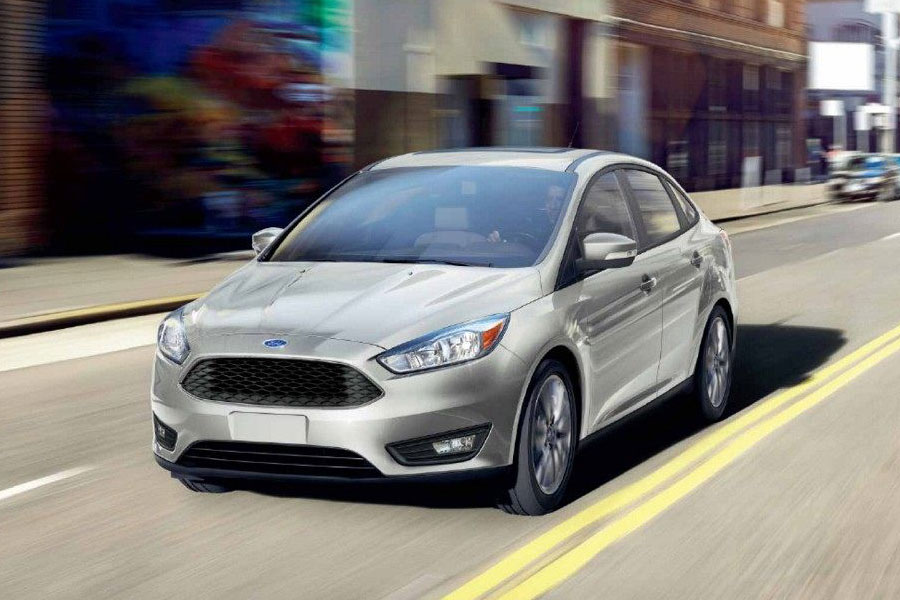 2019 Ford Focus on the Road