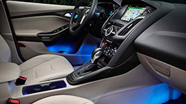 2016 Ford Focus Electric Ambient Interior Lighting