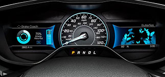 2016 Ford Focus Electric SmartGauge with EcoGuide