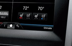 2016 Ford Fusion Heated and Cooled Seats