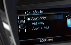 2016 Ford Fusion Lane-Keeping Assist