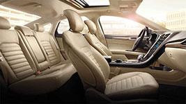 2016 Ford Fusion Interior Refinement