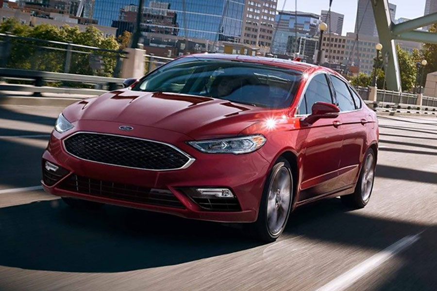 2019 Ford Fusion on the Road