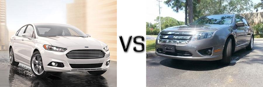 2016 Ford Fusion vs 2010 Fusion