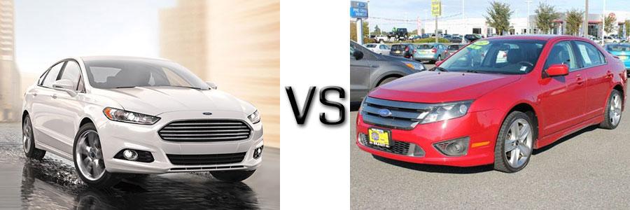 2016 Ford Fusion vs 2012 Fusion