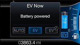 2016 Ford Fusion Energi EcoSelect Button