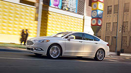 2017 Ford Fusion S Electric Power-Assisted Steering