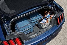 2017 Ford Mustang Roomy Trunk Space