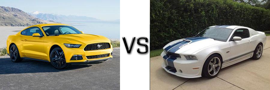 2016 Ford Mustang vs 2012 Mustang