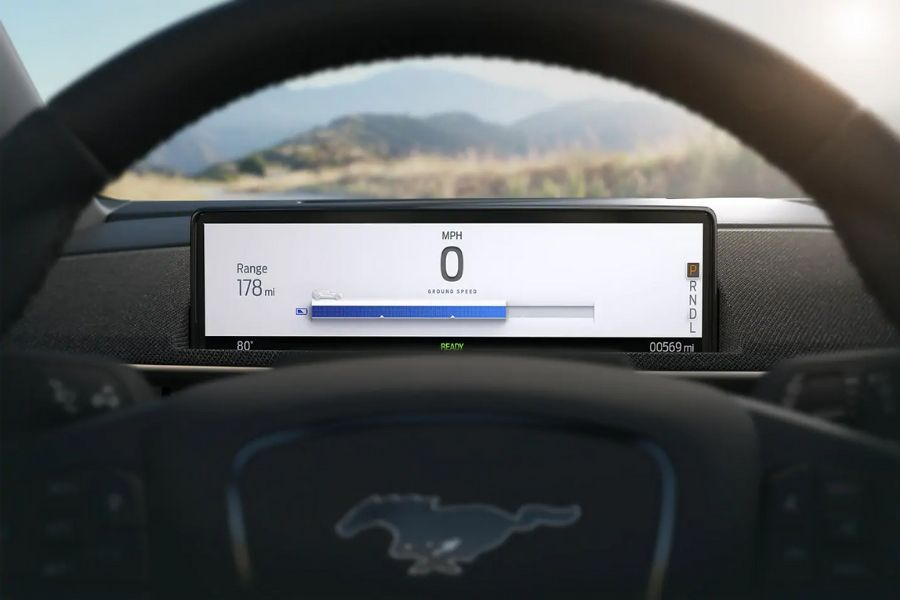2021 Ford Mustang Mach E Dashboard