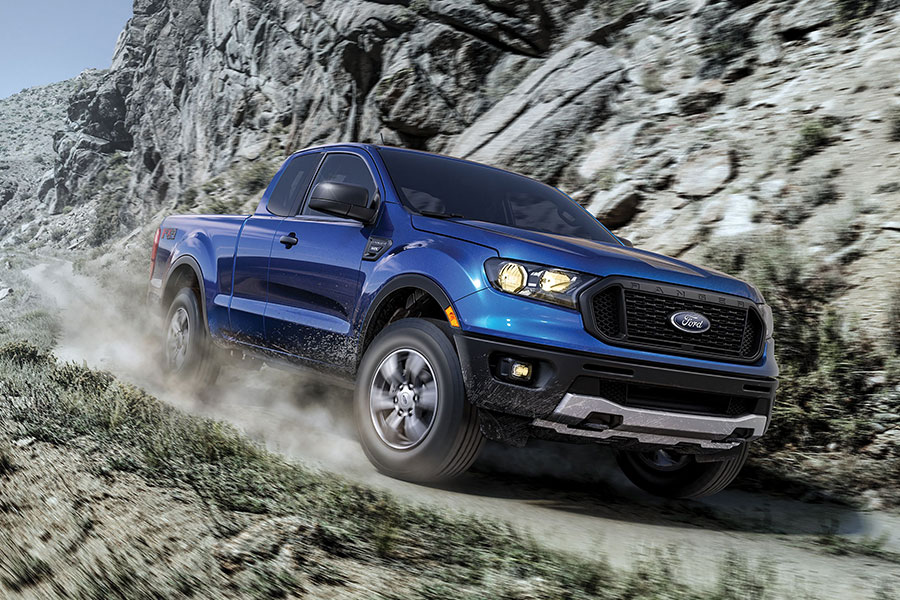 2019 Ford Ranger on the Road