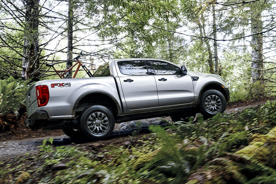 2020 Ford Ranger on the Road