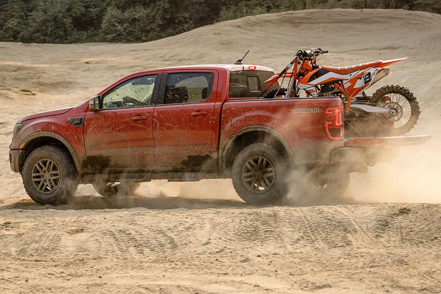 2021 Ford Ranger Hauling