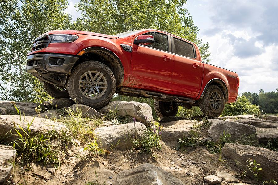 2021 Ford Ranger Off Roading