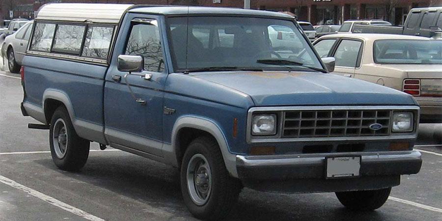 Used Ford Ranger Gen 1