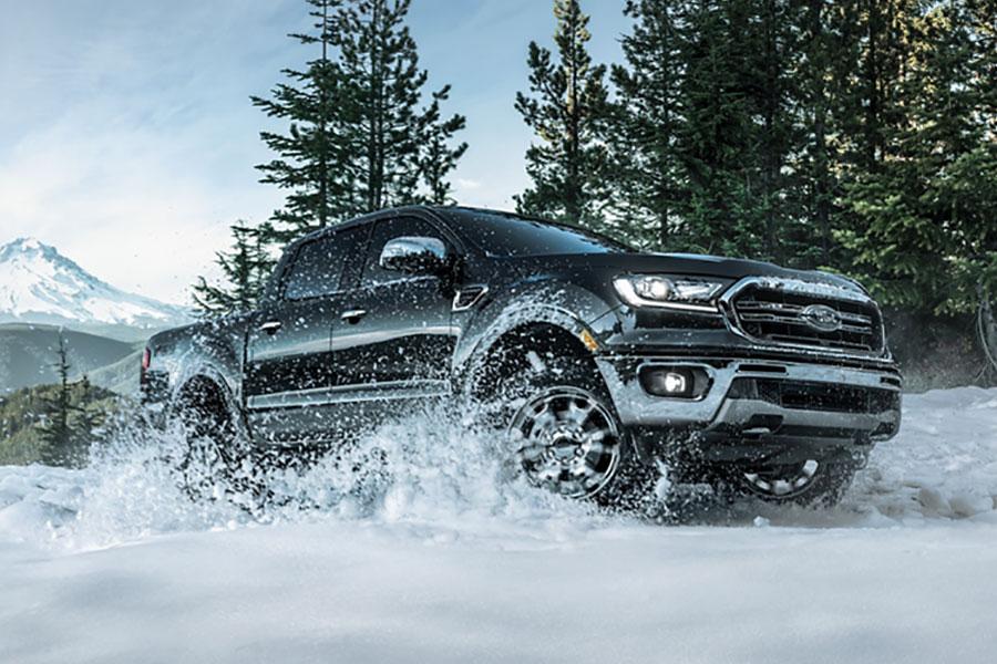 Ranger In The Snow