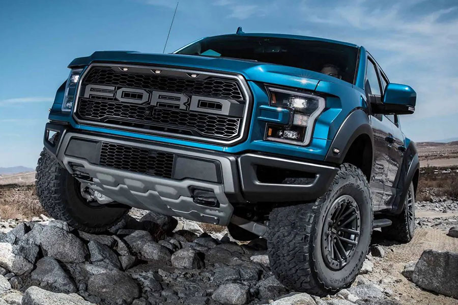 2020 Ford F-150 Raptor Off-Road