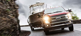 2017 Ford Super Duty Best-in-Class Brakes