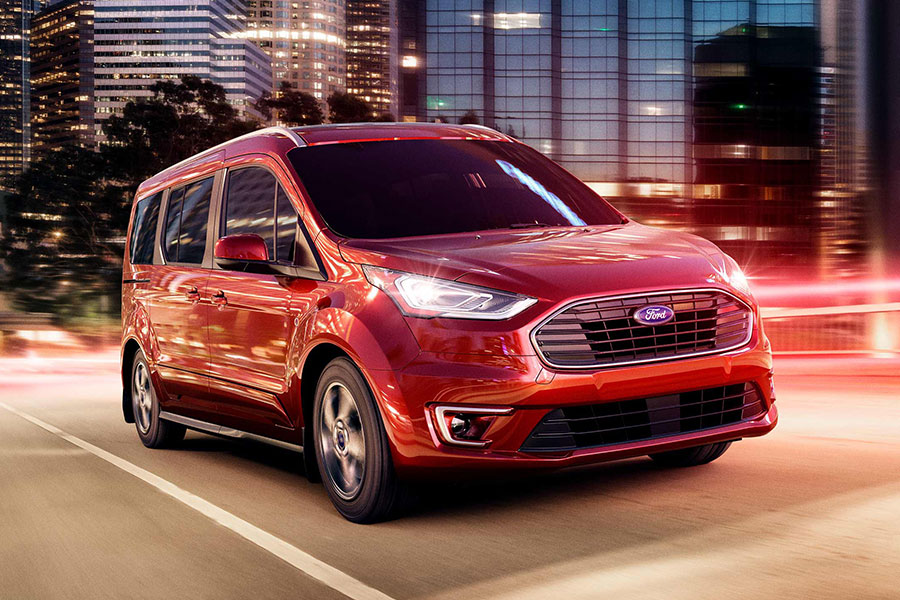 2019 Ford Transit Connect on the Road