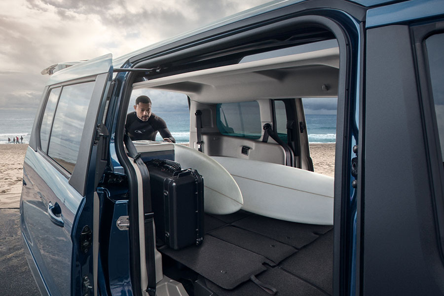 2020 Ford Transit Connect Storage