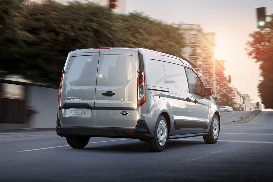 2019 Ford Transit Connect Van on the Road