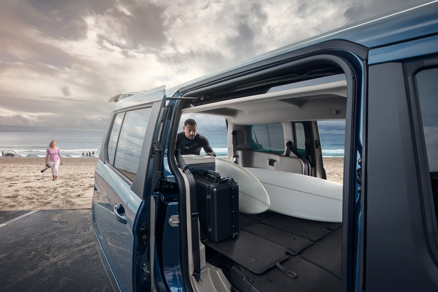 2020 Ford Transit Connect Passenger Wagon Cargo Space